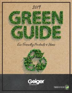 The Creative J Green Guide